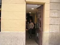 アパートメントの入口