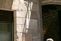 ひっそりとしたたたずまいピカソ美術館
